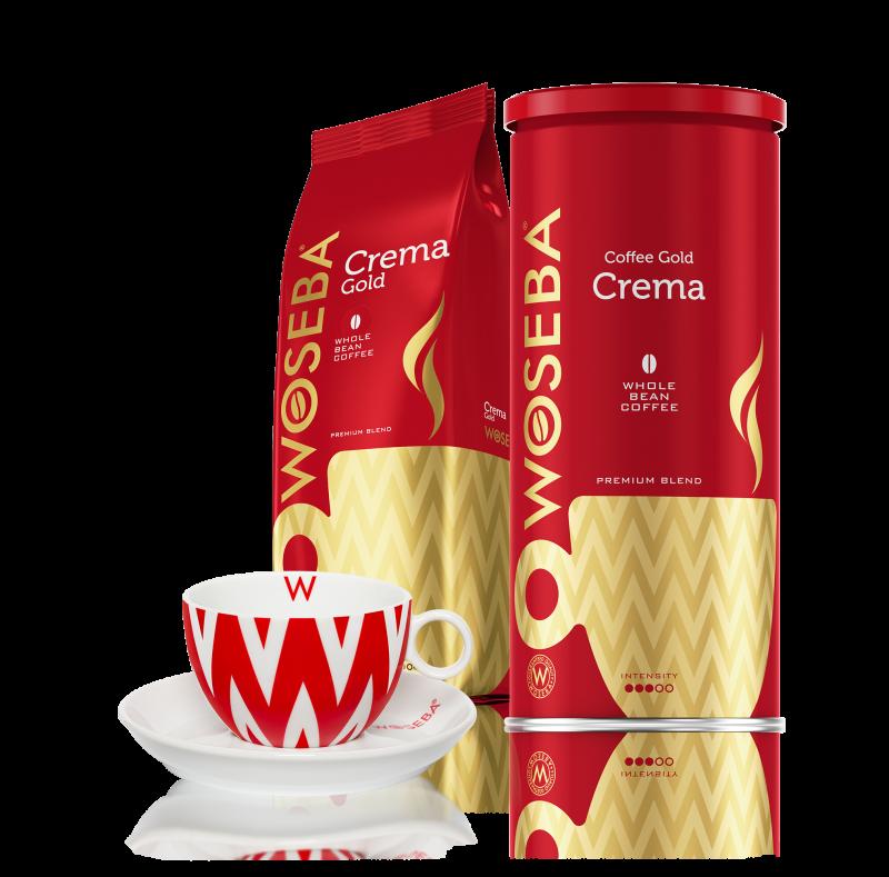 Zestaw kaw ziarnistych CREMA z filiżanką