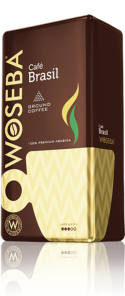 Café Brasil  Rodzaj-mielona Opakowanie-vacuum Gramatura-500 g